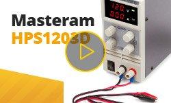 Видеообзор лабораторного блока питания Masteram HPS1203D