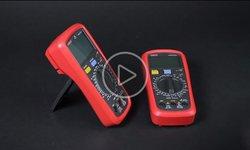 Видеообзор цифровых мультиметров UNI-T UT39A+ и UT39C+