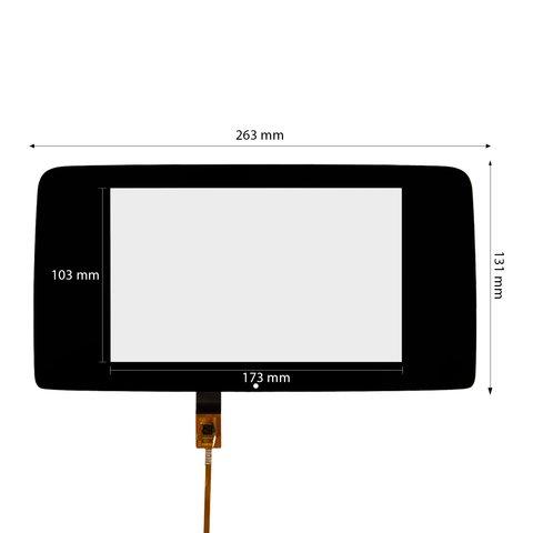 Емкостная сенсорная панель для Mercedes Benz CLS W218  2016