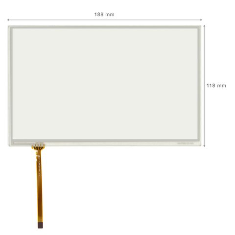 "8"" Resistive Touch Screen Panel Wide"