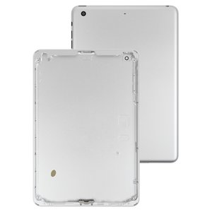 Back Cover for Apple iPad Mini 3 Retina Tablet, (silver, (version Wi-Fi))