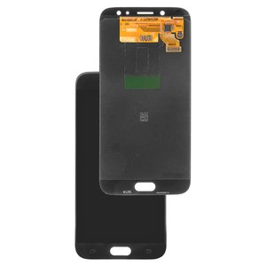 LCD Samsung J730 Galaxy J7 (2017), (black, with touchscreen, Original (PRC), original glass)