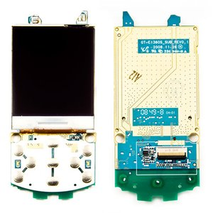 LCD for Samsung E1360 Cell Phone, (with board)
