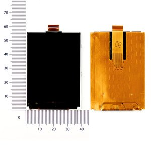 LCD for Fly IQ120; China-Amoi E601, E603 Cell Phones, (25 pin, (56*40)) #TM240320BNFWG4-B-1A/TM240320BNFWG1 FP-7