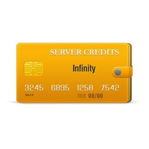 Créditos del servidor Infinity