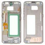 Parte media de carcasa puede usarse con Samsung G950FD Galaxy S8, dorada, maple gold