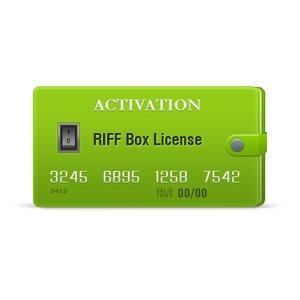 Активация RIFF Box License