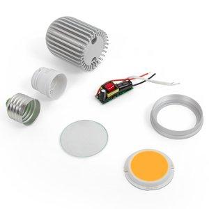 Комплект для сборки светодиодной лампы TN-A44 7 Вт (теплый белый, E27)
