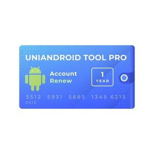 Годовая активация поддержки для Uni-Android Tool