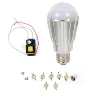 Комплект для збирання світлодіодної лампи SQ-Q17 7 Вт (холодний білий, E27)