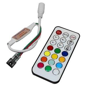 Контролер з ІЧ пультом TH2015-X (RGB, WS2811, WS2812, 5 В)