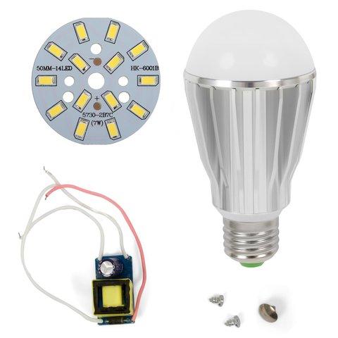 Комплект для збирання світлодіодної лампи SQ Q17 5730 7 Вт холодний білий, E27