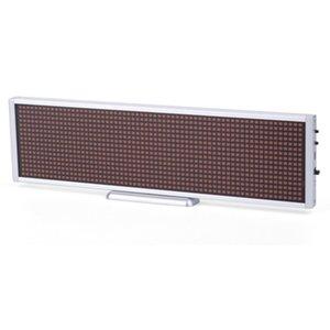 LED-дисплей для реклами P5 (660 × 94 мм, 112 × 14 точок)