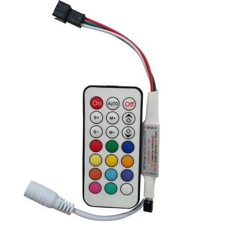 Контролер з радіопультом LED2017 RF RGB, 1024 пкс, 5 24 В
