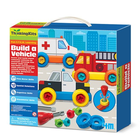 STEM–набор 4M Строим автомобиль 00-04694