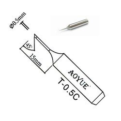 Soldering Iron Tip AOYUE T-0.5C