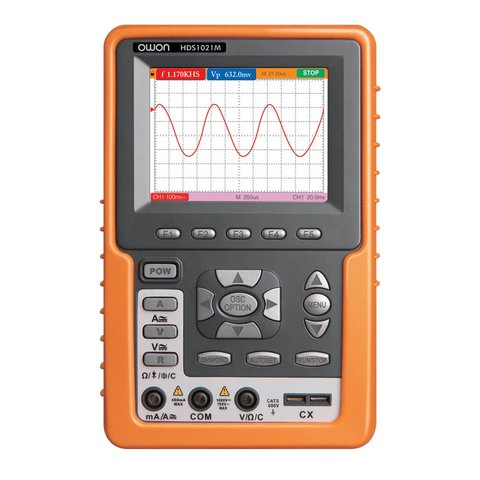 Handheld Digital Oscilloscope OWON HDS1021M